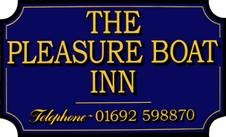 The Plasure Boat Inn Pub Sign